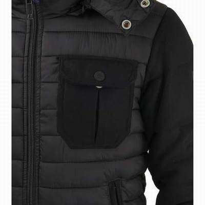 78616b177e8 veste doudoune armani noir